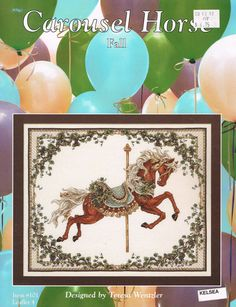 CCS Just Cross Stitch 101  FALL Carousel by BusyBeaverBoutique