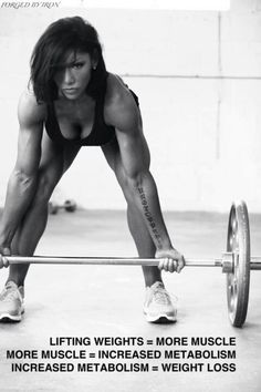 Lift weights .Get more motivated at http://www.fitbys.com Sports and Gymwear