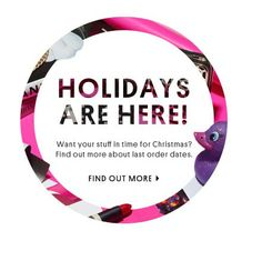 HOLIDAYS ARE HERE - Find Out More