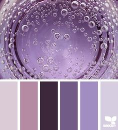 bubbling purples by design seeds Palettes Color, Colour Pallette, Color Palate, Colour Schemes, Color Patterns, Color Combos, Design Seeds, All Things Purple, Colour Board