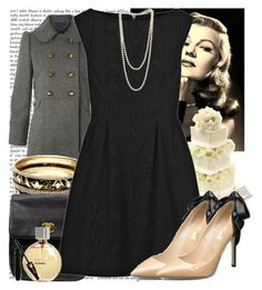 """""""character profile 3: Phoebe Kessler"""" by duchesscameron ❤ liked on Polyvore featuring Marc by Marc Jacobs, Amrita Singh, Kate Spade, McQ by Alexander McQueen, Valentino, Dorothy Perkins, Chanel, Lancôme, classic and two-tone"""