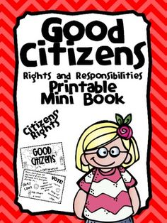 Citizens' Rights and Responsibilities Nonfiction Printable Reader and Activity Book