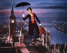 Julie Andrews as Mary Poppins in a comedic monlogue for kids from the film Mary Poppins, 1964 based on the book by P. Mary Poppins 1964, Julie Andrews, Disney Pixar, Disney Movies, Walt Disney, Disney Stuff, Costume Halloween, Fete Halloween, Halloween Ideas