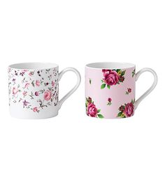 ROYAL ALBERT Royal Albert gift set of two mugs