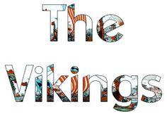 Free Vikings display letters Class Displays, School Displays, Classroom Displays, Classroom Ideas, Vikings Ks2, Viking Costume, Display Lettering, Viking Art, Class Decoration