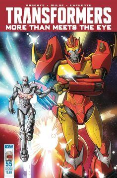 Transformers More Than Meets Eye #55 Rom Variant