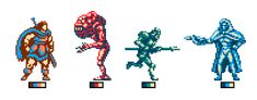 Image result for 8 color spritesheet character
