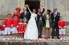 Red and white procession on D-Day - - Page Boy, D Day, Boutique, Marie, Red And White, Casual, Scrap, Sew, Dreams