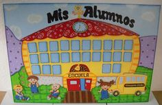 ENSERES PARA EL AULA DEL PREESCOLAR | MIS TABLAS Class Decoration, School Decorations, Foam Crafts, Crafts To Make, Tiger Crafts, Classroom Door, Fun Learning, Bulletin Boards, Teacher Gifts