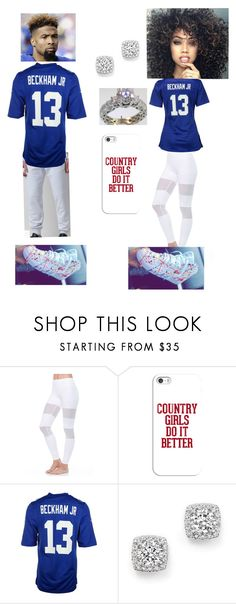 """""""Odell Beckham jr is bae"""" by skrillexgurl ❤ liked on Polyvore featuring Flexi Lexi, Casetify, Concord, NIKE and Bloomingdale's"""