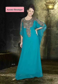 Gorgeous Moroccan Dubai style embroidary abaya kaftan farasha maxi dress