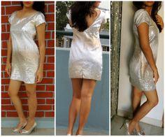 Sequins Dress at Tiara By Roshini Shah - sequins & shimmer ! <3