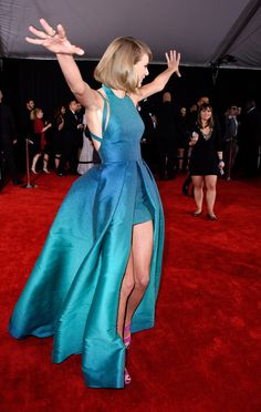Taylor Swift knows how to have fun at the Grammys