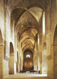Monasterio de Santes Creus. Iglesia.