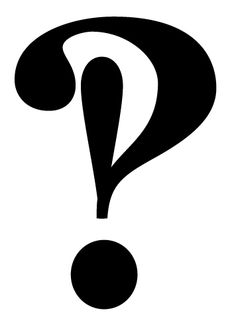 The amazing multipurpose interrobang.  How many times have you written a question mark followed by an exclamation?  Here's the answer - shame I can't find one on my keyboard though.