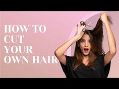 How to Cut Your Own Hair ✂ 20 DIY Cuts for Any Hair Length - YouTube Short Shag Hairstyles, Haircut For Thick Hair, Short Wavy Hair, Short Hair With Layers, Haircuts For Long Hair, Short Hairstyles For Women, Cool Hairstyles, Gorgeous Hairstyles, Modern Haircuts