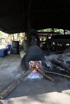 Traditional brewery, Aimere village