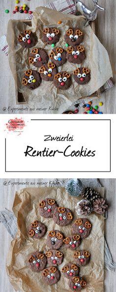 Rentier-Cookies - New Ideas Easy Smoothie Recipes, Easy Smoothies, Good Healthy Recipes, Looks Halloween, Fete Halloween, Biscuit Cookies, No Bake Cookies, Purple Drinks, Coconut Smoothie