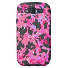 Camouflage #2 - Pink Samsung Galaxy S3 Phone Case