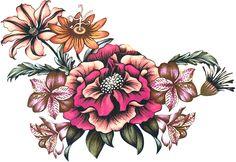 Tattoos, Flowers, Design, Tatuajes, Tattoo, Japanese Tattoos, A Tattoo, Royal Icing Flowers, Design Comics