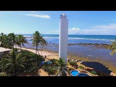 Praia do Forte – Bahia – Drone mostrando as belezas da Praia do Forte ( IBBI Imoveis )