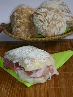 slices of bread, leavened recipe - creating you learn Tuscan Bean Soup, Bread Recipes, Cooking Recipes, Sports Food, International Recipes, I Love Food, Biscotti, Food Inspiration, Italian Recipes