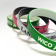 #Colorcoat #Wristbands are two layers of wristbands, with the top layer debossed, and the bottom layer as the text color. If you want to look cool, these bands are for you!