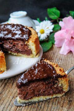 Torta Susanna al cioccolato dolce veloce cremoso vickyart arte in cucina