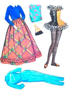 US $20.99 New in Dolls & Bears, Paper Dolls, Vintage