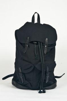 Han Kjobenhavn Black Bag Pack