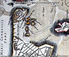 Oude kaarten van de kop van Noordholland Old Maps, Historical Maps, Genealogy, Netherlands, Holland, Amsterdam, History, Country, Prints