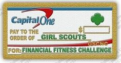 Get Financially Fit!!! Take the Financial Fitness Challenge sponsored by Capital One.