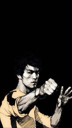 Bruce Lee (Caricature) Dunway Enterprises - http://www.learn-to-draw.org/caricatures_clb.html?hop=dunway