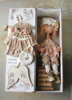 Текстильные куклы. Текстильная кукла. Коллекционный ангел. Казань Ангел