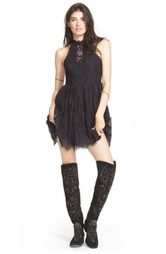 Free People 'Verushka' Minidress available at #Nordstrom