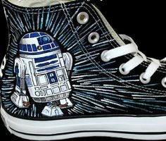 Wars Custom Sneakers Custom High-top Painted Canvas Shoes Source by ideas painted Winter Sneakers, Red Sneakers, Custom Sneakers, Custom Shoes, Sneakers Fashion, Star Wars Vans, Star Wars Shoes, Sneaker Quotes, Sneakers Sketch