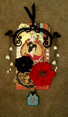 GEISHA TAG - SCRAPS OF DARKNESS REVEAL - Scrapbook.com