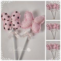 Ponteira  borboletas. by ♥ Silvana Domiciano - Dellicatess for Babies ♥, via Flickr