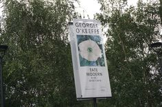Georgia O'Keeffe #Exhibition at Tate Modern #London #Cartel #Affiche #Arterecord 2016 https://twitter.com/arterecord