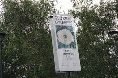 Georgia O'Keeffe #Exhibition at Tate Modern #London #Cartel #Affiche #Arterecord 2016 https://twitter.com/arterecord