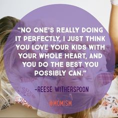 It's not about being the perfect mom, it's about being there. #momlife