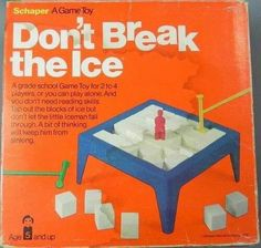 I remembered how much I loved this game when I saw this pic! DON'T BREAK THE ICE is a game released in 1968,& even though only 2 or 3 yrs old, I understood how to play!