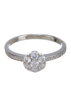 Simulated Diamond Cluster Ring by Lafonn on @HauteLook