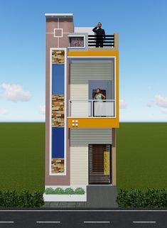 House Balcony Design, House Outer Design, House Outside Design, Bungalow House Design, House Front Design, Small House Design, Door Design, Residential Building Design, Home Building Design