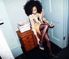 See Corinne Bailey Rae pictures, photo shoots, and listen online to the latest music. Black Women Hairstyles, Girl Hairstyles, Hair Like Wool, Corinne Bailey Rae, Curl Curl, Bad Hair, Types Of Fashion Styles, Hair Inspiration, Character Inspiration