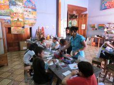 Integracion educativa y pre vocacional cursos de dibujo en búsqueda del Picazo oh el Greco de su interior