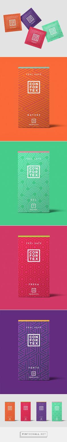 @CONFORTEXcondom — @lvlypckg  Branding & Packaging Preservativos | Condones | Lubricantes | Male latex condoms | Lubrication Jelly