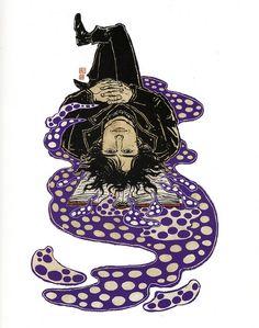 Neil Gaiman by Yuko Shimizu (2007) by peacay, via Flickr