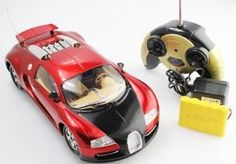 Remote Control Full Function Bugatti Veyron 1:16 RTR RC Car Remote Control Bugatti with Rechargeable Batteries by Remote Control Full Function Bugatti Veyron 1:16 RTR RC Car Remote Control Bugatti with Rechargeable Batteries. $37.99. Electric Powered. Full Function, Working headlights. 9 Inches in Length. Extreme Detail. Rechargeable Batteries. * Rechargeable Batteries     * Full Function     * Remote Controlled     * Extreme Detail     * Working Headlights