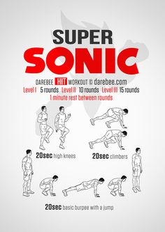Super Sonic Workout
